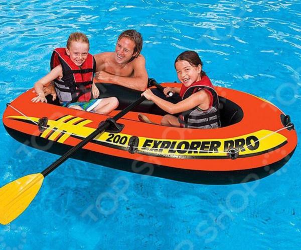 Лодка надувная Intex «Эксплорер Про 200» 58356