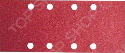 Набор шлифовальных листов Bosch 2609256A81 набор шлифовальных листов bosch по дереву 93 х 230 мм зерно 80 10 шт