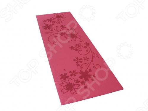 Коврик для фитнеса и йоги Alonsa FM-05 коврик для йоги и фитнеса profi fit 6 мм стандарт серый