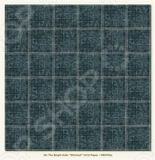 фото Бумага для скрапбукинга двусторонняя Morn Sun Stitched, купить, цена