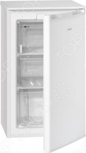 Морозильник Bomann GS 165.1 высотой 85 см с полезным объемом 65 литров и состоит из двух прозрачных ящиков и секции с откидной пластиковой шторкой. Мощность замораживания составляет 3,5 кг продуктов за сутки, а длительность хранения при отключенной электроэнергии 12 часов. Уплотнитель морозилки выполнен из материала с противогрибковым веществом, препятствующим образованию плесени, неприятного запаха и разрушению самого уплотнителя. Морозильник Bomann GS 165.1 предназначен не только для длительного хранения продуктов, но и для быстрой заморозки свежих продуктов до минус 18 градусов и ниже. Простоту и удобство в использовании прибора обеспечивает электро-механическое управление, перенавешиваемая дверца и регулируемые по высоте ножки. Компактный размер, высший класс энергопотребления А , тихая работа двигателя.