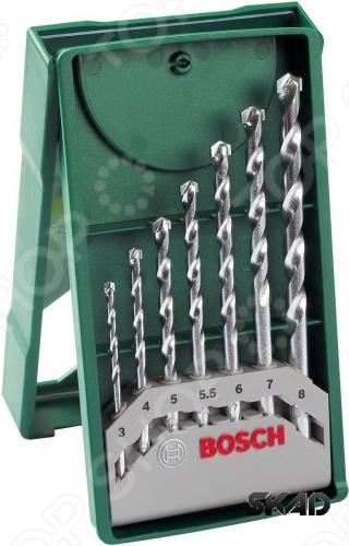 Набор сверл по дереву Bosch 2607019581 набор коронок по дереву bosch 25 63мм 7шт 2 608 584 061