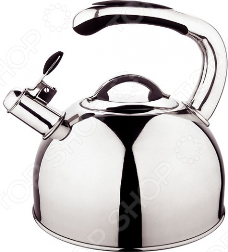 Чайник со свистком Regent 93-TEA-02Чайники со свистком и без свистка<br>Чайник со свистком Regent 93-TEA-02 это замечательное дополнение вашему кухонному интерьеру. Чайник изготовлен из высококачественной нержавеющей стали. Многослойное термосохраняющее дно ускоряет процесс закипания воды. Модель оборудована свистком и может использоваться на всех современных типах плит, в том числе на индукционных. Чайник можно мыть в посудомоечной машине. Теперь чайную церемонию можно устроить в любое время.<br>