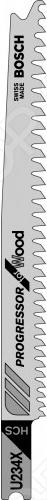 Набор пильных полотен Bosch U234 X HCS