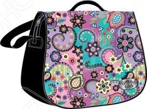 Сумка Pampered Girls Клематис это отличная сумочка с абстрактным изображением. С сумкой девочка сможет пойти на прогулку, в детский сад или в школу. Внутри есть отделение на молнии, куда поместятся игрушки, карандаши и конечно же, бутылочка воды. Удобные ручки позволят носить сумочку на плече или на локте. Основное отделение закрывается на липучки и молнию, есть удобная подвеска на застежке и красивый принт. Благодаря плотному материалу, сумочка прослужит ребенку долгое время.
