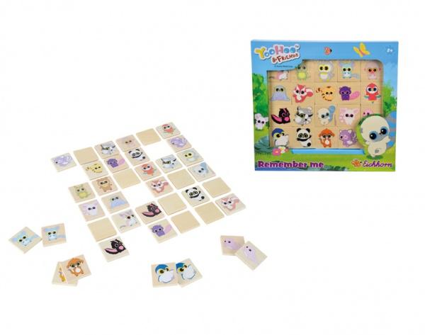 Настольная игра Yoohoo and Friends: Набор Мемори