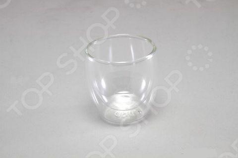 Стакан двойной Gipfel 7010 изготовлен термостойкого боросиликатного стекла. Двойные стенки позволяет дольше наслаждаться горячими напитками длинными зимними вечерами, а в летний зной утоляя жажду,наоборот будет дарить вам постоянную прохладу. Объем стакана 100 мл. Компания Gipfel всегда пытается удивить не только качеством, но и внешним видом своей продукции.