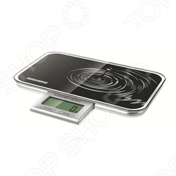 Весы кухонные Redmond RS-721 помогут вам с точностью до грамма придерживаться указанной рецептуре. Электронный дисплей, аккуратно убирается в платформу, а четыре датчика обеспечивают высокую точность взвешивания, вплоть до 1г. Максимальный вес, который способны взвесить весы Redmond RS-721 составляет 10 кг, что вполне достаточно для кухонных нужд, так как редко возникает необходимость взвесить более 10 кг продуктов.