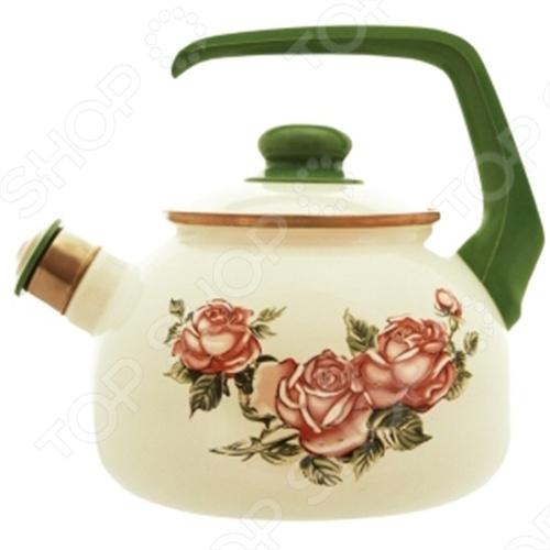 Чайник со свистком Metrot Роза чайник со свистком metrot повар