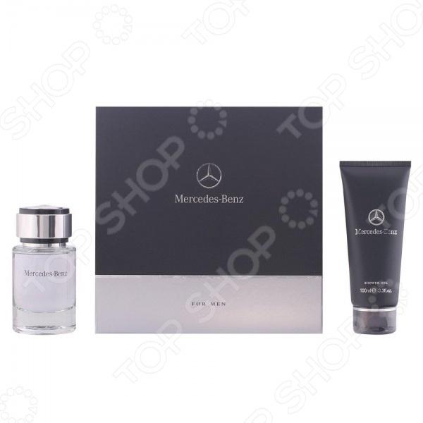 Набор мужской: туалетная вода и гель для душа Mercedes-Benz Eau de Toilette + Shower Gel, 100 мл, 75 мл marc jacobs daisy eau so fresh туалетная вода женская 75 мл