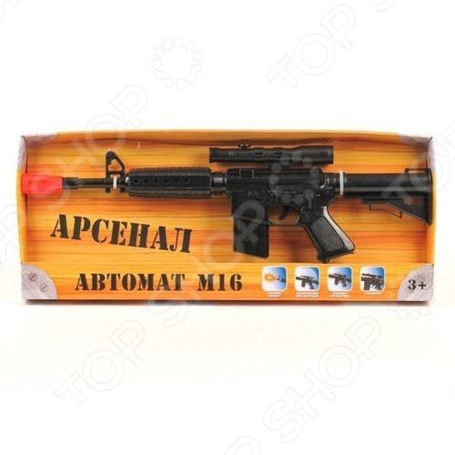 фото Автомат игрушечный Играем Вместе «М16», Другое игрушечное оружие