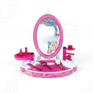 Студия красоты с аксессуарами настольная KLEIN BarbieСюжетно-ролевые наборы<br>Студия красоты с аксессуарами настольная KLEIN Barbie станет настоящим подарком для любой юной модницы. Она способствует поддержанию у него хорошего настроения, обогащению чувственного опыта ребенка, развитию наглядно-образного мышления. Яркий стиль и необходимые аксессуары сделают игру более увлекательной. Теперь у маленькой модницы есть все необходимое, чтобы ухаживать за собой и быть самой красивой на свете.<br>
