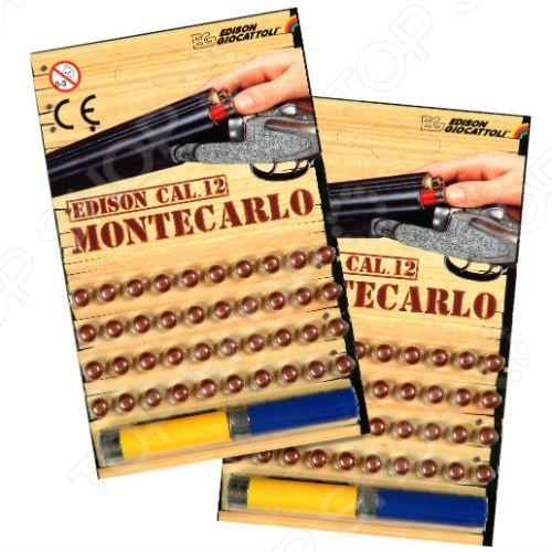 Пистоны Edison Giocattoli Монтекарло пистоны edison giocattoli для 8 зарядного оружия