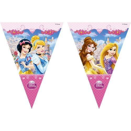 Гирлянда детская Procos «Принцессы Дисней - сказочный мир» соломка для напитков procos 82658 принцессы дисней