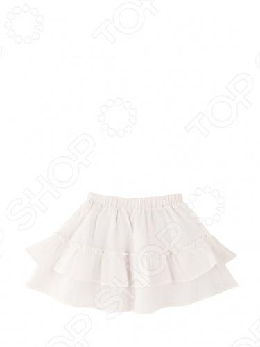 Юбка Fore N Birdie Linen Ruffle SkirtДетские юбки<br>Юбка Fore N Birdie Linen Ruffle Skirt смотрится свежо и празднично. Она изготовлена из тонкого льна с мягкой хлопковой подкладкой. Благодаря дышащей ткани ее комфортно носить в жаркую летнюю погоду. Сзади на поясе вшита резинка, поэтому юбка подстраивается под объем талии. Украшена элегантными рюшами. Прекрасная вещь, подходяшая для торжественных случаев и для ежедневных прогулок. Состав: 100 лен. Подкладка 100 хлопок. Бренд одежды для девочек Fore N Birdie это брат бренда для мальчиков Fore!! Axel Hudson, который принадлежит дизайнеру Полу Нгуену из Лос-Анджелеса. Пол создает одежду для детей уже 14 лет, восемь из которых он сотрудничает с лучшими марками мира. Больше всего на свете Пол любит своего сына Хадсона и дочь Изабеллу, а также дизайн одежды и игру в гольф. Именно забота о детях и увлечение гольфом вдохновили его на создание новой коллекции Fore N Birdie. Пол переосмыслил классическую ретро гольф-моду для леди и джентльменов, придав ей неожиданное и свежее звучание, ставшее основой для потрясающих детских вещей. Стильный бренд, трансформирующий облик современной детской моды, Fore N Birdie позволяет детям с самого раннего возраста проявить яркую, неповторимую индивидуальность и найти свой стиль. Fore N Birdie заботится о здоровье детей и сознает свою социальную ответственность, поэтому все вещи выполнены из экологичных материалов: бамбукового волокна, льна и хлопка. Приобретая вещи от Fore N Birdie, Вы можете быть уверены, что Ваш ребенок носит комфортные и стильные вещи лучшего в мире качества!<br>