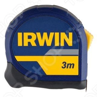 Рулетка IRWIN HPPРулетки. Мерные ленты<br>Рулетка IRWIN HPP является незаменимым приспособлением во время строительства или ремонта. Оснащена корпусом Pro Touch со стальной передней панелью, которая защищает ленту во время падения. Лента с двух сторон покрыта нейлоном, что обеспечивает максимальную прочность изделия. Фиксатор на корпусе необходим для удержания, сматывания или разматывания ленты перед работой. Крючок на трех заклепках позволяет производить более точные измерения.<br>