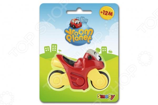 Мотоцикл игрушечный Smoby 211280 станет прекрасным подарком для вашего ребенка, который одарит ему радость и смех во время интересной игры. Выполненный из безопасных для здоровья малыша материалов, мотоцикл не имеет острых углов и абсолютно безопасен для ребенка. Его добрая улыбка и задорный взгляд заставят ребенка улыбнуться и поднимет настроение. Во время игры у малыша развивается мелкая моторика, воображение, сообразительность, логику. Подарите своему малышу возможность одновременно весело играть и развиваться.