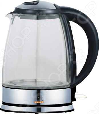 Чайник Irit IR-1901Чайники электрические<br>Чайник Irit IR-1901 имеет прозрачный корпус из стекла, что позволяет сразу увидеть уровень его заполнения водой. Его объем в 1,8 литров вскипятит за один раз большое количество воды. Чайник оснащен блокировкой включения без воды, что предотвратит его от сгорания. Закрытый нагревательный элемент упрощает уход за чайником.<br>