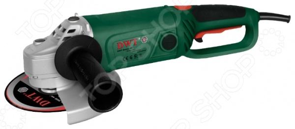 Машина шлифовальная DWT WS24-230 DШлифовальные машины<br>Машина шлифовальная DWT WS24-230 D, от ведущего поставщика строительных электроинструментов и комплектующих к ним DWT, представляет собой специализированный инструмент, предназначенный для распила и шлифовки поверхностей из различных материалов. Модель изготовлена из высококачественных ударопрочных материалов, снабжена дополнительной эргономичной рукояткой для удобства использования, функциями блокировки кнопки включения, ограничения пускового тока и фиксации шпинделя. Шлифмашина работает от сети, ее потребляемая мощность составляет 2,4 кВт, а максимальная скорость холостого хода 6000 об мин.<br>