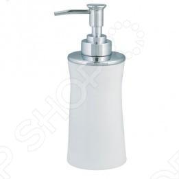 фото Ёмкость для жидкого мыла фарфоровая Spirella MALIBU, купить, цена