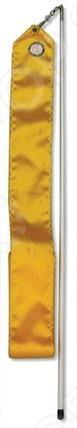 Лента гимнастическая 6 м AB220    /Желтый