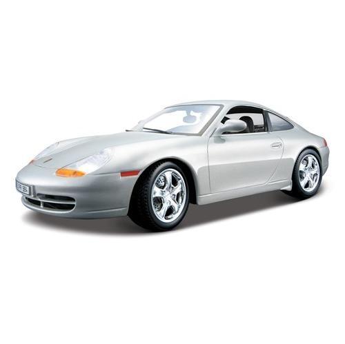 Модель автомобиля 1:18 Bburago Porsche 911 Carrera (1997). В ассортиментеМодели авто<br>Товар продается в ассортименте. Цвет изделия при комплектации заказа зависит от наличия товарного ассортимента на складе. Модель 1:18 Porsche 911 Carrera 1997 представляет собой точную копию настоящего автомобиля. Коллекционная модель выпущена известной компанией по производству игрушек Bburago. Особенность коллекции в том, что все модели изготовлены по лицензии именитых автопроизводителей. Она изготовлена из металла с элементами пластика. У машинки открываются двери, вращаются колеса. Модель 1:18 Porsche 911 Carrera 1997 является отличным подарком не только ребенку, но и коллекционеру.<br>
