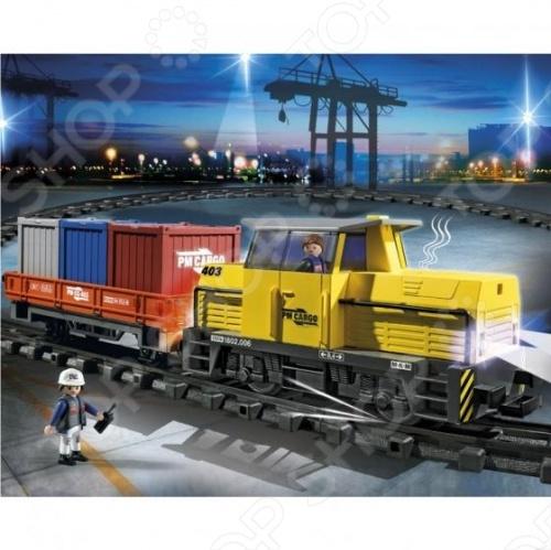 фото Порт:Грузовой поезд с контейнерами Playmobil 5258 5258pm, Другие виды конструкторов