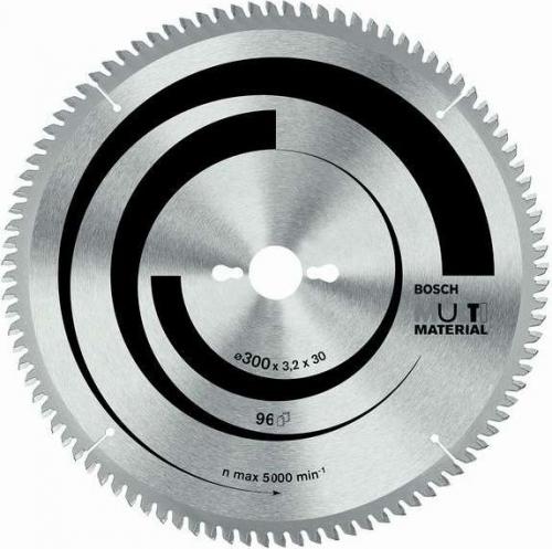 Диск отрезной для торцовочных и настольных дисковых пил Bosch Multi Material 2608640449 диск отрезной для торцовочных пил bosch optiline wood 2608640432