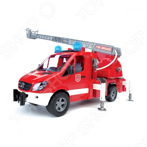 Машина пожарная Bruder MB Sprinter 02-532 bruder модуль со световыми и звуковыми эффектами для автомобилей bruder
