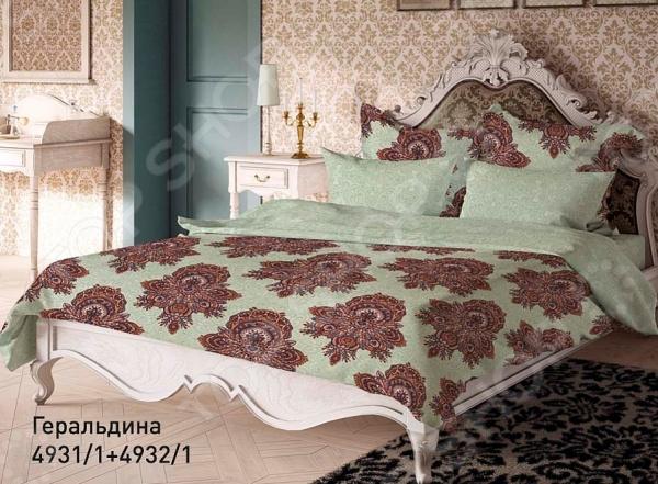 Комплект постельного белья Волшебная ночь «Геральдина». 2-спальный постельное белье волшебная ночь комплект постельного белья виктория