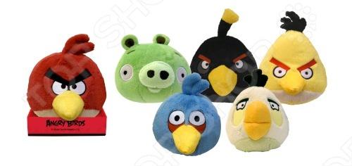 Товар продается в ассортименте. Вид изделия при комплектации заказа зависит от наличия товарного ассортимента на складе. Игрушка мягкая Angry Birds станет прекрасным подарком. Размер игрушки составляет 20 см. Сама игрушка имеет встроенный звук и поставляется на платформе. Цвета представлены в ассортименте - зеленый, желтый, белый. красный. Мягкая игрушка принесет радость и подарит своему обладателю мгновения нежных объятий и приятных воспоминаний. Она выполнена из высококачественного текстиля с набивкой из синтепона. Великолепное качество исполнения делают эту игрушку чудесным подарком к любому празднику.