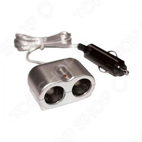 Разветвитель прикуривателя на 2 гнезда Zeus ZA517Разветвители прикуривателя<br>Разветвитель прикуривателя на 2 гнезда Zeus ZA517 полезное приспособление для автолюбителей, используется для подключения двух приборов одновременно. Оборудован индикатором питания и крепится двумя шурупами предоставленные в комплекте.<br>