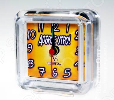 Будильник Вега Б 1-009 «Доброе утро!» будильник спектр кварц 0720 с б