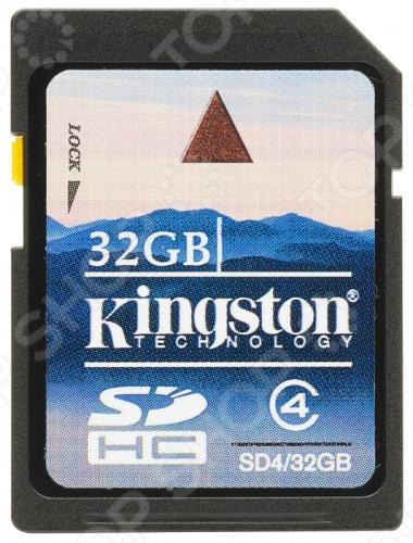 фото Карта памяти Kingston SD4/32GB, Карты памяти. Кардридеры