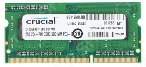 цена на Память оперативная Crucial CT25664BF160B