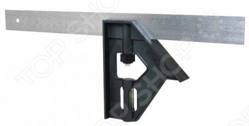 Угольник STANLEY комбинированный 2-46-017 угольник измерительный truper e 16x24 14384 16х24
