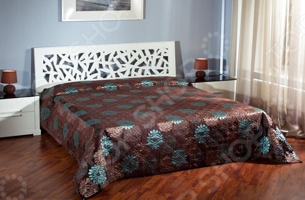 Покрывало Primavelle PollioneПокрывала<br>Стеганое покрывало Primavelle Pollione, несомненно, внесет яркий акцент в интерьер вашей спальной комнаты, добавит ей уюта, роскоши и элегантности. Модель выполнена из высококачественного полиэстера, отлично зарекомендовавшего себя в производстве постельного белья, благодаря мягкости, гладкости, низкой сминаемости и устойчивости к истиранию. При пошиве покрывала использована технология безниточного скрепления тканей ТМ Ультрастеп.<br>