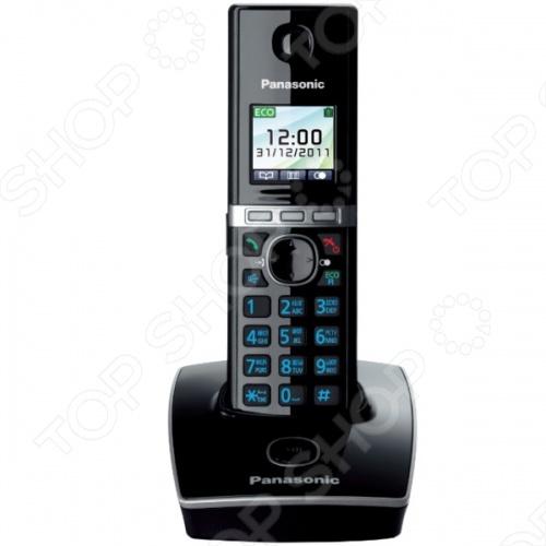 Радиотелефон Panasonic KX-TG8051 атс panasonic kx tem824ru аналоговая 6 внешних и 16 внутренних линий предельная ёмкость 8 внешних и 24 внутренних линий