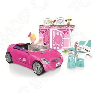 фото Игровой набор Mega Bloks «Барби c автомобилем», Игровые наборы для девочек