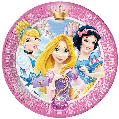 Тарелки одноразовые Procos «Принцессы Disney»