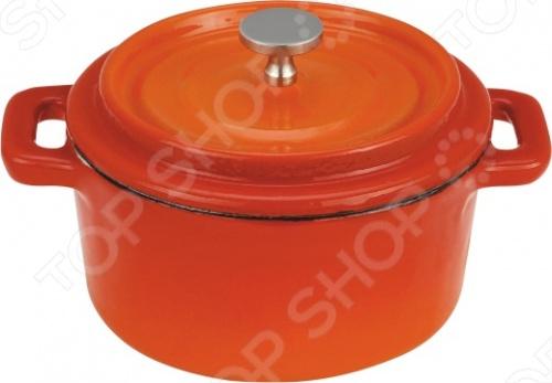 Кастрюля чугунная Vitesse Ferro кастрюля с крышкой сковородой vitesse ferro
