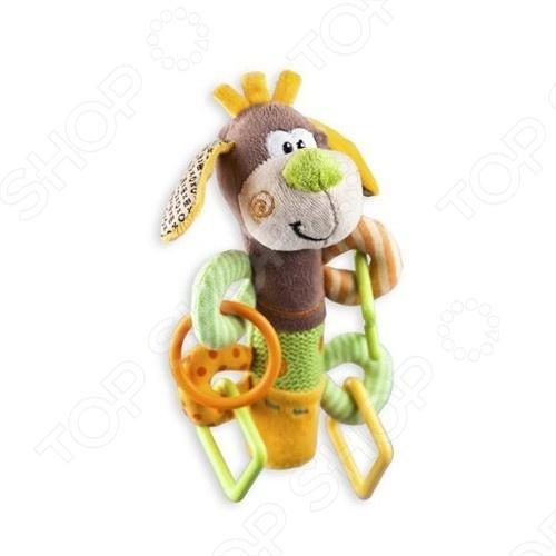 Игрушка развивающая Жирафики «Щенок с пищалкой»