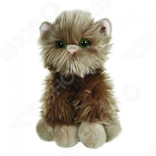 Мягкая игрушка Gulliver Серый котик-пушистик игрушка мягкая gulliver мишутка пуффи 30см