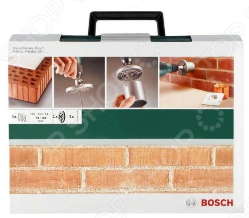Набор коронок с твердосплавным напылением Bosch 2609255629