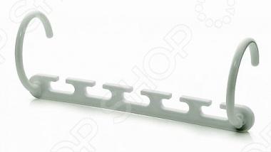 Платформа для вешалок Bradex Цепочка поможет рационально разместить вещи в вашем шкафу. На одной платформе размещено 5 крючков для вешалок. Приспособление выполенно из прочного пластика, поэтому способно выдержать даже тяжёлые зимние вещи пальто, дублёнки, шубы . С платформой Bradex в вашем шкафу поселится порядок и больше не придётся тратить много времени на поиски нужной вещи. Комплектация: 8 платформ, инструкция.