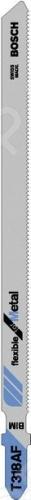 Набор пилок для лобзика Bosch T 318 AF BIM