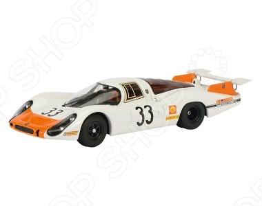 Модель автомобиля 1:43 Schuco Porsche 908LH № 33 LeMansМодели авто<br>Модель автомобиля 1:43 Schuco Porsche 908LH 33 LeMans это коллекционная модель, которая является копией настоящего автомобиля. Она изготовлена из металла с элементами пластика. У машинки открываются двери, двигаются колеса. Машинка является отличным подарком не только ребенку, но и коллекционеру. Однако, во время игры с такой машинкой у ребенка развивается мелкая моторика рук, фантазия и воображение.<br>