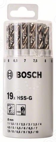 Набор сверл по металлу Bosch 2607018361 набор сверл по металлу bosch standard hss co din 338 5 шт