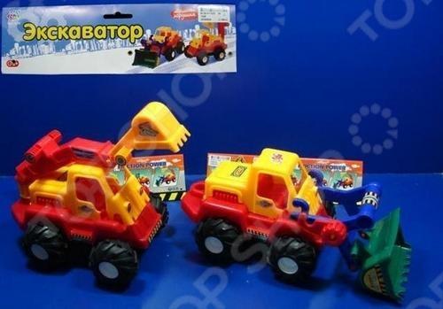 Конструктор-игрушка Joy Toy Р40802 Экскаватор конструкторы fanclastic конструктор fanclastic набор роботоводство