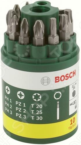Набор бит Bosch 2607019452  бит органайзер xselector standard смешанная комплектация 11 предметов wiha 26985